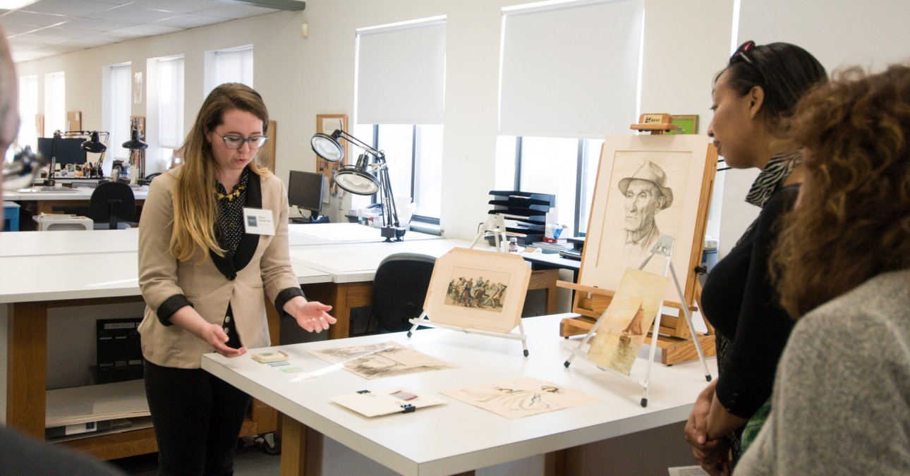 Paper Conservator Chloe Houseman explains object