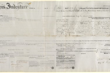 Indenture before and after