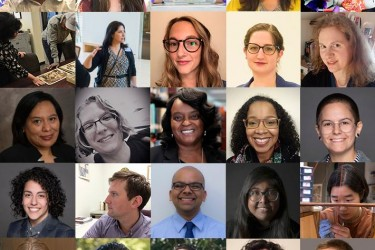 A photo montage of guest speakers for the Diversity in Collections Care: Many Voices colloquium